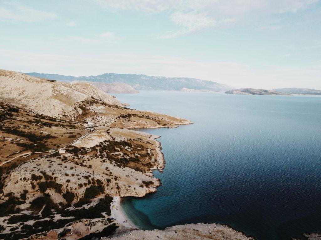 moře Chorvatsko